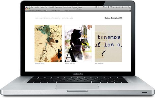 Helena Basagañas website